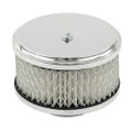 """00-9012-0 AIR CLEANER FOR STOCK VW CARB. 3""""  HIGH W/PAPER"""