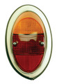 98-2024-0 TAIL LIGHT ASSEMBLY, RIGHT, 62-67, EURO STYLE