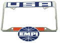 00-6460-0 EMPI USA LICENSE PLATE FRAME