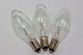 3 x 12V 3W 0.25A E10 Clear Christmas Lights Spare Bulbs Pifco Dencon 792WC