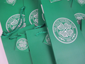 10 x Glasgow Celtic Football Club 1888 Bottle Gift Bag & Gift Tag & Green Rope