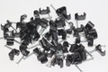 50 x Black Twin Satellite Shotgun Cable Clips, Sky Plus, Sky HD, CB63R, WF65