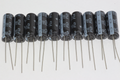 10 x Panasonic 470uF 25V EEUFR1E471L Slim Ultra Low ESR Electrolytic Capacitors
