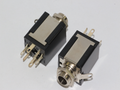 2 x Stereo 1/4 Inch 6.35mm Chassis Mount Jack Socket, Switched Headphone Socket