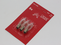 3 Pack Of Konstsmide 55V, 3W, E10, MES Spare Welcome Candle Bridge Bulbs