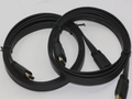 2 x 1.5m HDMI Gold Plated Flat Cable V1.4 High Speed Ethernet 4K, 3D, 2160p