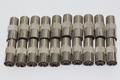 20 x Satellite F Socket to Female Coax Plug Adaptor Converter Connector