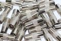100 x Satellite F Socket to Male Coax Plug Adaptor Converter Connector