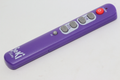 Seki Slim Purple Universal Easy To Use Large Buttons Learning Remote Control