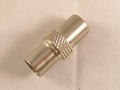 Coax Aerial Plug Male Screw On Easy Fit 4 Pack