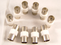 Coax adaptor Male to Male Female to Female Coupler 8 pack