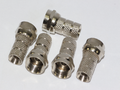 5 x 4mm F Connector Plug For Sky Plus HD Freesat Twin CB63R WF65 Shotgun Cable