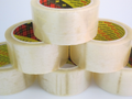 3M Transparent packaging tape 66m x 48mm x 6 pack
