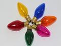 6 x 12V 3W 0.25A E12 Coloured Christmas Lights Spare Bulbs Pifco Dencon Lyvia