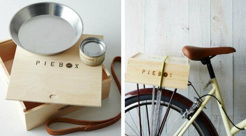pie box gift set with artisan sugar