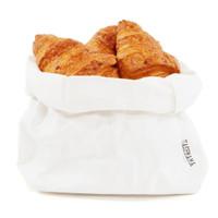 White Washable Paper Bag Medium