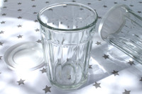 Grey Stars Tablecloth