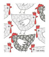 Tapestry Hens