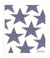 Blue Polka Dot Stars