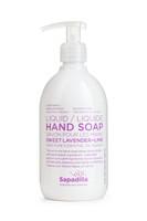 Sapadilla Hand Soap Lavender + Lime