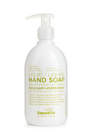 Sapadilla Hand Soap Rosemary + Peppermint