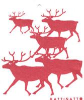 Reindeers Red