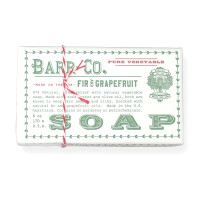 Barr Co. Fir & Grapefruit Soap