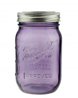 Heritage Purple Mason Jar