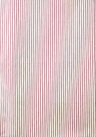 Red Ticking Stripe Tea Towel
