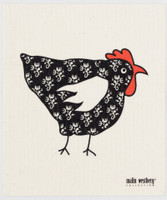 Tapestry Hen Black
