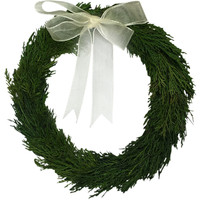Preserved Tuscan Cypress Wreath - Small