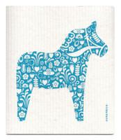 Turquoise Dala Horse
