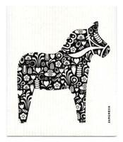 Black Dala Horse