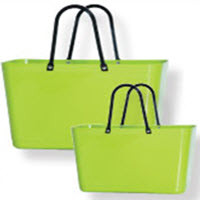 Swedish Hinza Tote Lime Green -  Large