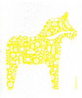 Yellow Dala Horse - New!
