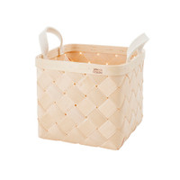 Lastu Birch Basket Medium Felt Handles
