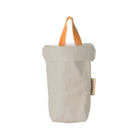 Washable Paper Bag Grey - Hold Bag Long