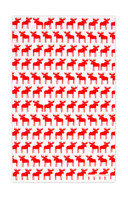 Moose Red Tea Towel