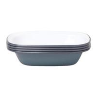 Falcon Enamelware Pie Dish - Pigeon Grey