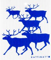 Reindeers Blue