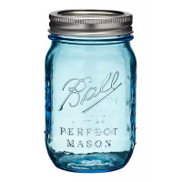 Heritage Blue Mason Jar