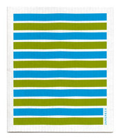 Stripes Turquoise & Green  - New!