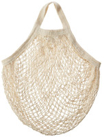 French Style Market Mesh Bag - Long Handles