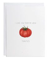 Greeting Card Tomato
