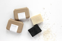 Cleansing Soap Bar - Black