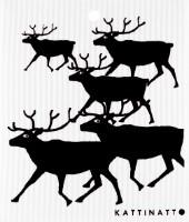 Reindeers Black