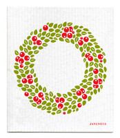 Red Lingonberry Wreath