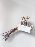 White Berries Bouquet