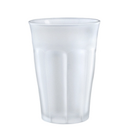 Picardie Frosted Glass Tumbler Tall