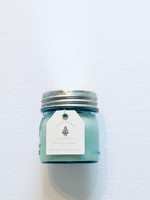 Tree Farm Candle Blue Mason Jar